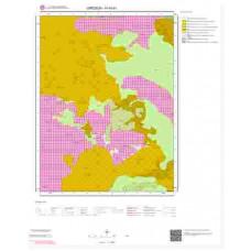H40b1 Paftası 1/25.000 Ölçekli Vektör Jeoloji Haritası
