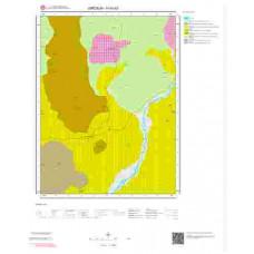 H40b3 Paftası 1/25.000 Ölçekli Vektör Jeoloji Haritası