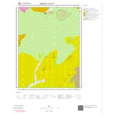 H40b4 Paftası 1/25.000 Ölçekli Vektör Jeoloji Haritası