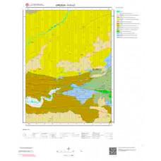 H40c2 Paftası 1/25.000 Ölçekli Vektör Jeoloji Haritası