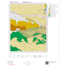 H40c3 Paftası 1/25.000 Ölçekli Vektör Jeoloji Haritası