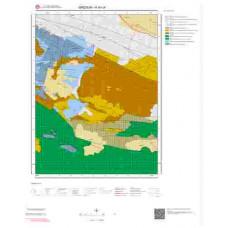 H40c4 Paftası 1/25.000 Ölçekli Vektör Jeoloji Haritası