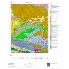 H41 Paftası 1/100.000 Ölçekli Vektör Jeoloji Haritası