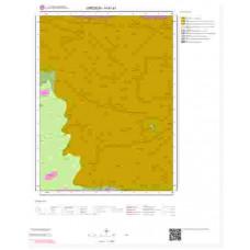 H41a1 Paftası 1/25.000 Ölçekli Vektör Jeoloji Haritası