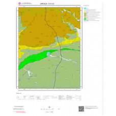 H41a3 Paftası 1/25.000 Ölçekli Vektör Jeoloji Haritası