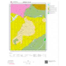 H41a4 Paftası 1/25.000 Ölçekli Vektör Jeoloji Haritası