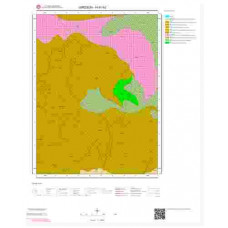 H41b2 Paftası 1/25.000 Ölçekli Vektör Jeoloji Haritası