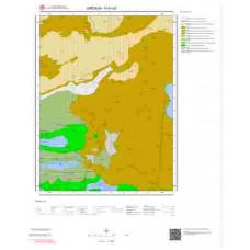 H41b3 Paftası 1/25.000 Ölçekli Vektör Jeoloji Haritası