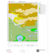 H41b4 Paftası 1/25.000 Ölçekli Vektör Jeoloji Haritası