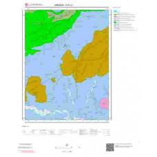 H41c1 Paftası 1/25.000 Ölçekli Vektör Jeoloji Haritası