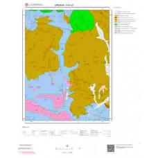 H41c2 Paftası 1/25.000 Ölçekli Vektör Jeoloji Haritası