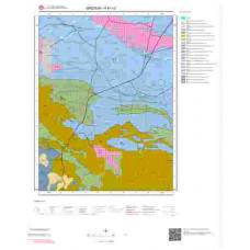H41c3 Paftası 1/25.000 Ölçekli Vektör Jeoloji Haritası