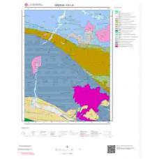 H41c4 Paftası 1/25.000 Ölçekli Vektör Jeoloji Haritası