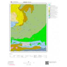 H41d1 Paftası 1/25.000 Ölçekli Vektör Jeoloji Haritası