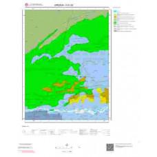H41d2 Paftası 1/25.000 Ölçekli Vektör Jeoloji Haritası