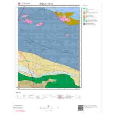 H41d3 Paftası 1/25.000 Ölçekli Vektör Jeoloji Haritası