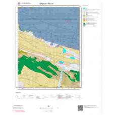 H41d4 Paftası 1/25.000 Ölçekli Vektör Jeoloji Haritası