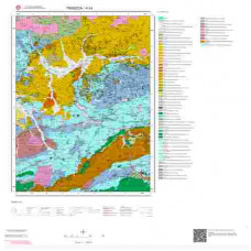 H44 Paftası 1/100.000 Ölçekli Vektör Jeoloji Haritası