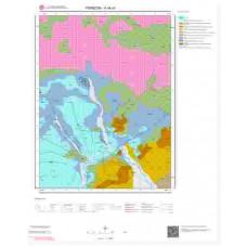 H44a1 Paftası 1/25.000 Ölçekli Vektör Jeoloji Haritası