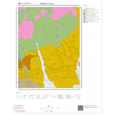 H44a2 Paftası 1/25.000 Ölçekli Vektör Jeoloji Haritası