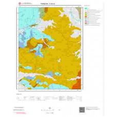 H44a4 Paftası 1/25.000 Ölçekli Vektör Jeoloji Haritası