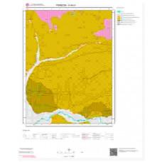 H44b1 Paftası 1/25.000 Ölçekli Vektör Jeoloji Haritası
