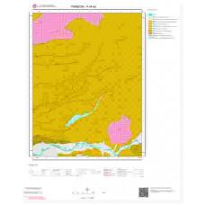H44b2 Paftası 1/25.000 Ölçekli Vektör Jeoloji Haritası