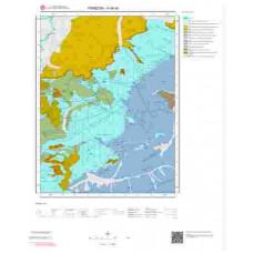 H44b4 Paftası 1/25.000 Ölçekli Vektör Jeoloji Haritası