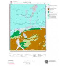 H44c2 Paftası 1/25.000 Ölçekli Vektör Jeoloji Haritası