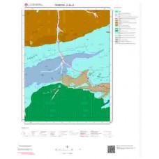 H44c3 Paftası 1/25.000 Ölçekli Vektör Jeoloji Haritası