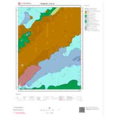 H44c4 Paftası 1/25.000 Ölçekli Vektör Jeoloji Haritası