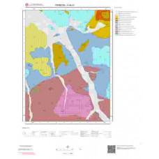 H44d1 Paftası 1/25.000 Ölçekli Vektör Jeoloji Haritası