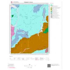 H44d3 Paftası 1/25.000 Ölçekli Vektör Jeoloji Haritası