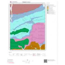 H44d4 Paftası 1/25.000 Ölçekli Vektör Jeoloji Haritası