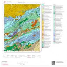 H45 Paftası 1/100.000 Ölçekli Vektör Jeoloji Haritası