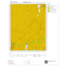 H45a1 Paftası 1/25.000 Ölçekli Vektör Jeoloji Haritası