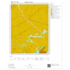 H45a2 Paftası 1/25.000 Ölçekli Vektör Jeoloji Haritası