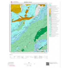 H45a3 Paftası 1/25.000 Ölçekli Vektör Jeoloji Haritası