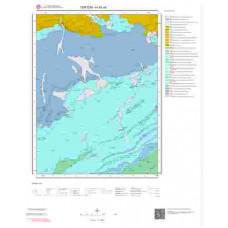 H45a4 Paftası 1/25.000 Ölçekli Vektör Jeoloji Haritası