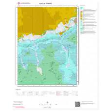 H45b2 Paftası 1/25.000 Ölçekli Vektör Jeoloji Haritası