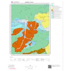 H45b3 Paftası 1/25.000 Ölçekli Vektör Jeoloji Haritası