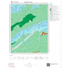 H45b4 Paftası 1/25.000 Ölçekli Vektör Jeoloji Haritası