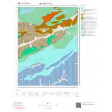 H45c1 Paftası 1/25.000 Ölçekli Vektör Jeoloji Haritası
