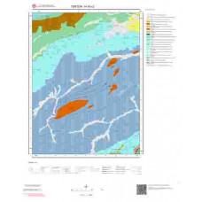 H45c2 Paftası 1/25.000 Ölçekli Vektör Jeoloji Haritası