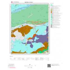 H45d1 Paftası 1/25.000 Ölçekli Vektör Jeoloji Haritası