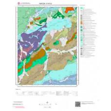 H 45-d2 Paftası 1/25.000 ölçekli Jeoloji Haritası