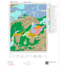 H 45-d3 Paftası 1/25.000 ölçekli Jeoloji Haritası