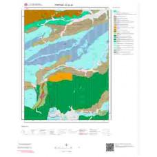 H 45-d4 Paftası 1/25.000 ölçekli Jeoloji Haritası