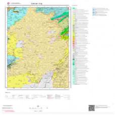 H 46 Paftası 1/100.000 ölçekli Jeoloji Haritası