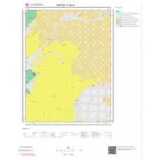 H46a4 Paftası 1/25.000 Ölçekli Vektör Jeoloji Haritası